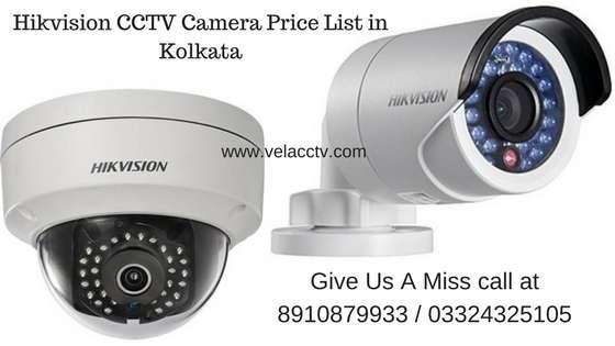 Hikvision CCTV Camera Price List in Kolkata