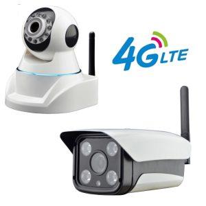 4G LTE Network CCTV Cameras