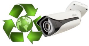 Eco-friendly CCTV system