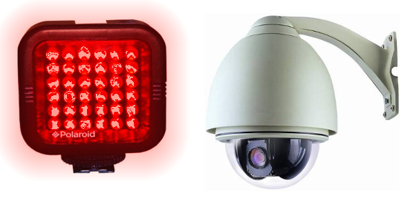 External vs Internal IR Cameras